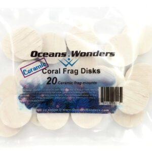 large coral frag disk 30mm